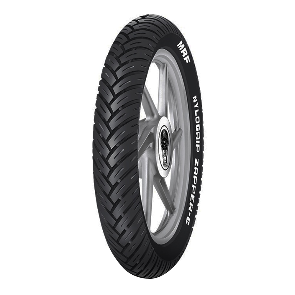 Mrf Zapper C 110 80 R17 Tyre Tubeless Price Images Specifications