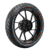 CEAT Zoom RAD - Colored Sidewall Tyre Tyre Image