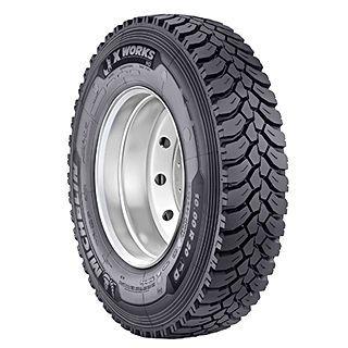 Michelin X Works HD Z tyre Image