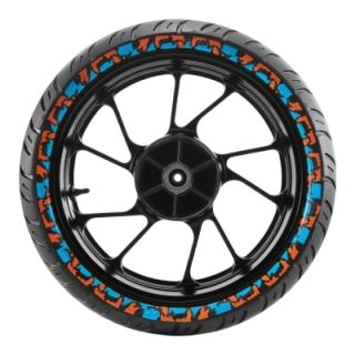 CEAT Zoom RAD - Colored Sidewall Tyre-2 tyre Image